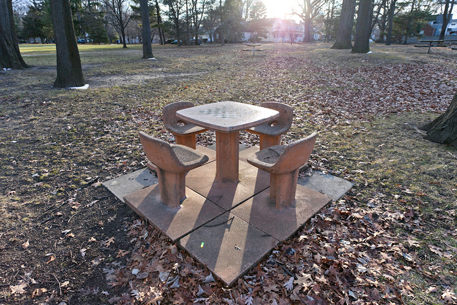 SCOTT HOCKING - Concrete picnic table forms